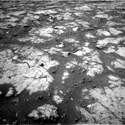 Nasa's Mars rover Curiosity acquired this image using its Left Navigation Camera on Sol 2790, at drive 1142, site number 80