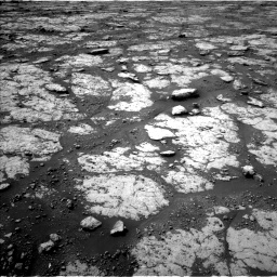 Nasa's Mars rover Curiosity acquired this image using its Left Navigation Camera on Sol 2790, at drive 1184, site number 80
