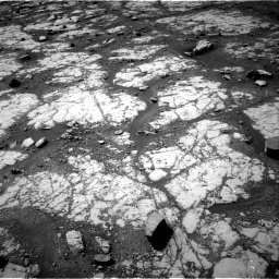 Nasa's Mars rover Curiosity acquired this image using its Right Navigation Camera on Sol 2790, at drive 1004, site number 80