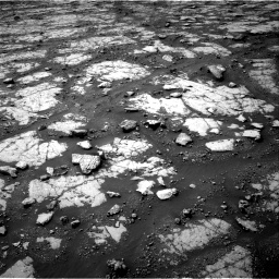 Nasa's Mars rover Curiosity acquired this image using its Right Navigation Camera on Sol 2790, at drive 1076, site number 80