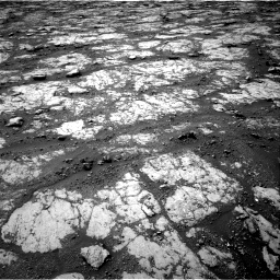 Nasa's Mars rover Curiosity acquired this image using its Right Navigation Camera on Sol 2790, at drive 1106, site number 80