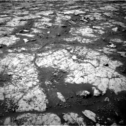 Nasa's Mars rover Curiosity acquired this image using its Right Navigation Camera on Sol 2790, at drive 1130, site number 80