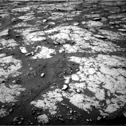 Nasa's Mars rover Curiosity acquired this image using its Right Navigation Camera on Sol 2790, at drive 1166, site number 80