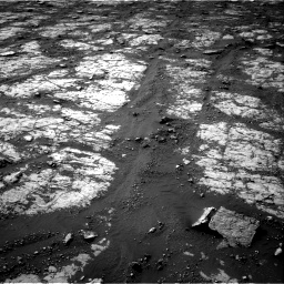 Nasa's Mars rover Curiosity acquired this image using its Right Navigation Camera on Sol 2790, at drive 1268, site number 80