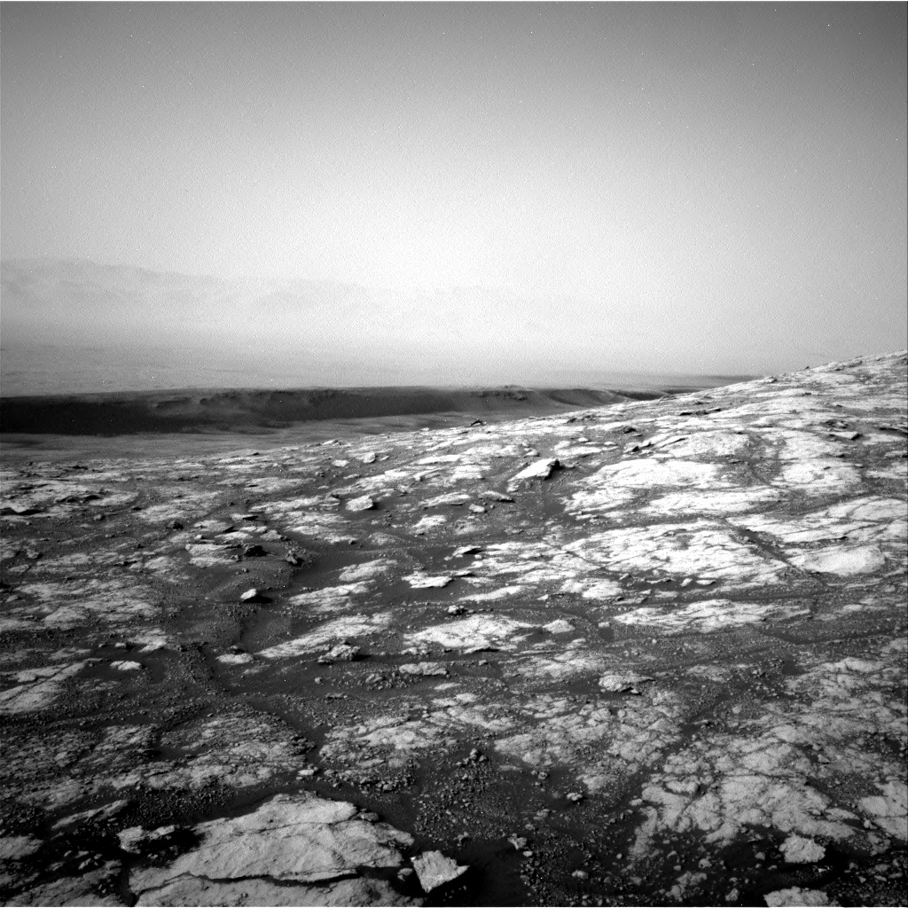 Nasa's Mars rover Curiosity acquired this image using its Right Navigation Camera on Sol 2790, at drive 1346, site number 80