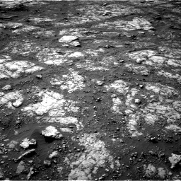 Nasa's Mars rover Curiosity acquired this image using its Right Navigation Camera on Sol 2790, at drive 1364, site number 80
