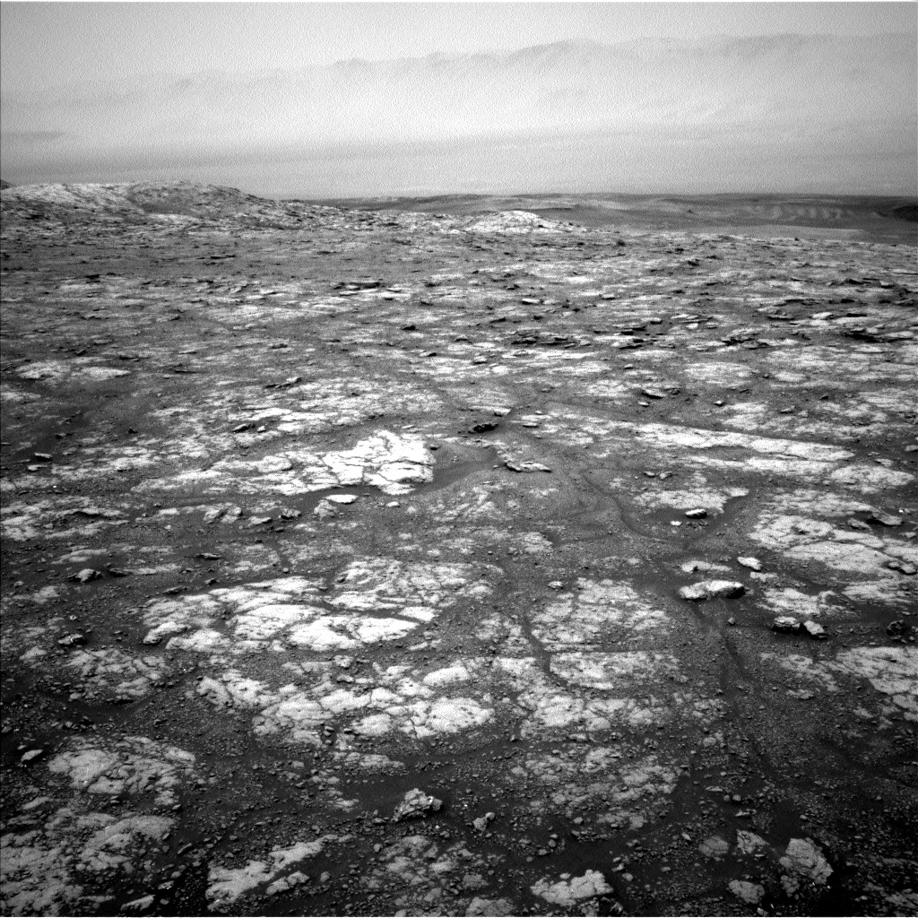 Nasa's Mars rover Curiosity acquired this image using its Left Navigation Camera on Sol 2791, at drive 1398, site number 80