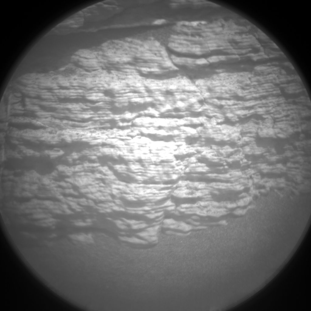 Nasa's Mars rover Curiosity acquired this image using its Chemistry & Camera (ChemCam) on Sol 2792, at drive 1398, site number 80