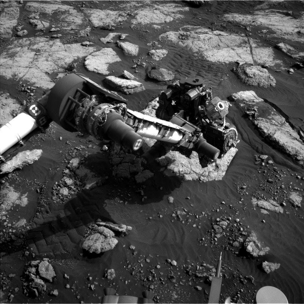 Nasa's Mars rover Curiosity acquired this image using its Left Navigation Camera on Sol 2792, at drive 1398, site number 80