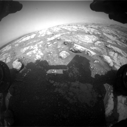 Nasa's Mars rover Curiosity acquired this image using its Front Hazard Avoidance Camera (Front Hazcam) on Sol 2793, at drive 1656, site number 80