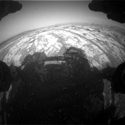 Nasa's Mars rover Curiosity acquired this image using its Front Hazard Avoidance Camera (Front Hazcam) on Sol 2793, at drive 1680, site number 80
