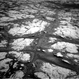Nasa's Mars rover Curiosity acquired this image using its Left Navigation Camera on Sol 2793, at drive 1428, site number 80