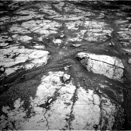 Nasa's Mars rover Curiosity acquired this image using its Left Navigation Camera on Sol 2793, at drive 1458, site number 80
