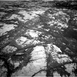 Nasa's Mars rover Curiosity acquired this image using its Left Navigation Camera on Sol 2793, at drive 1530, site number 80