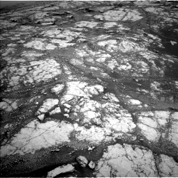 Nasa's Mars rover Curiosity acquired this image using its Left Navigation Camera on Sol 2793, at drive 1590, site number 80