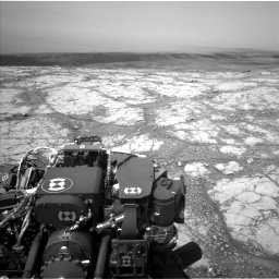 Nasa's Mars rover Curiosity acquired this image using its Left Navigation Camera on Sol 2793, at drive 1620, site number 80