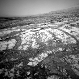 Nasa's Mars rover Curiosity acquired this image using its Left Navigation Camera on Sol 2793, at drive 1656, site number 80