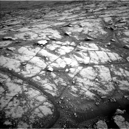 Nasa's Mars rover Curiosity acquired this image using its Left Navigation Camera on Sol 2793, at drive 1674, site number 80