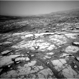 Nasa's Mars rover Curiosity acquired this image using its Left Navigation Camera on Sol 2793, at drive 1686, site number 80