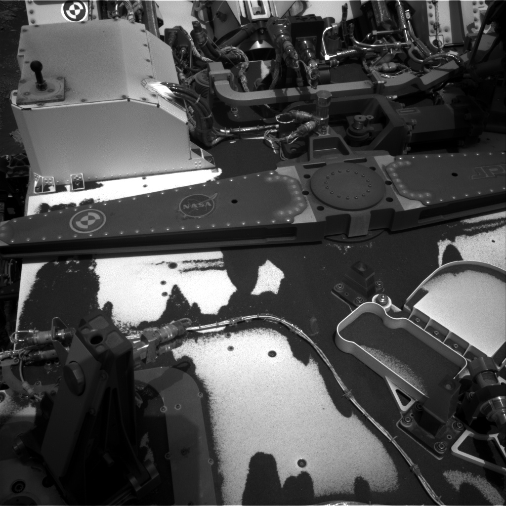 Nasa's Mars rover Curiosity acquired this image using its Right Navigation Camera on Sol 2793, at drive 1398, site number 80