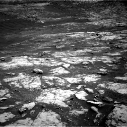 Nasa's Mars rover Curiosity acquired this image using its Right Navigation Camera on Sol 2793, at drive 1410, site number 80