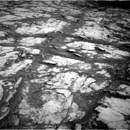 Nasa's Mars rover Curiosity acquired this image using its Right Navigation Camera on Sol 2793, at drive 1416, site number 80