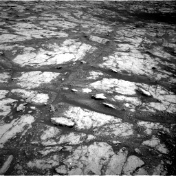 Nasa's Mars rover Curiosity acquired this image using its Right Navigation Camera on Sol 2793, at drive 1422, site number 80