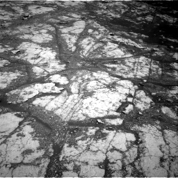 Nasa's Mars rover Curiosity acquired this image using its Right Navigation Camera on Sol 2793, at drive 1494, site number 80