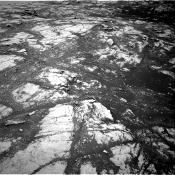 Nasa's Mars rover Curiosity acquired this image using its Right Navigation Camera on Sol 2793, at drive 1530, site number 80