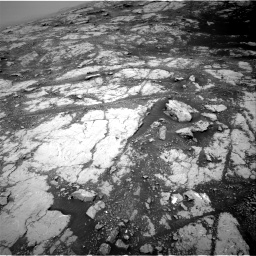 Nasa's Mars rover Curiosity acquired this image using its Right Navigation Camera on Sol 2793, at drive 1566, site number 80