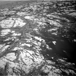 Nasa's Mars rover Curiosity acquired this image using its Right Navigation Camera on Sol 2793, at drive 1620, site number 80