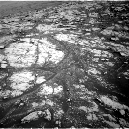 Nasa's Mars rover Curiosity acquired this image using its Right Navigation Camera on Sol 2793, at drive 1632, site number 80