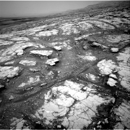 Nasa's Mars rover Curiosity acquired this image using its Right Navigation Camera on Sol 2793, at drive 1638, site number 80