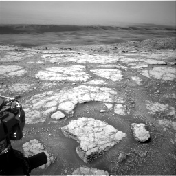 Nasa's Mars rover Curiosity acquired this image using its Right Navigation Camera on Sol 2793, at drive 1650, site number 80