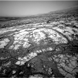 Nasa's Mars rover Curiosity acquired this image using its Right Navigation Camera on Sol 2793, at drive 1656, site number 80