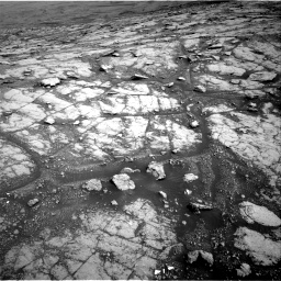 Nasa's Mars rover Curiosity acquired this image using its Right Navigation Camera on Sol 2793, at drive 1662, site number 80