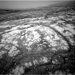 Nasa's Mars rover Curiosity acquired this image using its Right Navigation Camera on Sol 2793, at drive 1668, site number 80