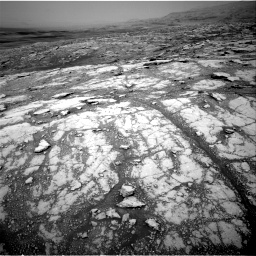 Nasa's Mars rover Curiosity acquired this image using its Right Navigation Camera on Sol 2793, at drive 1674, site number 80