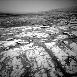 Nasa's Mars rover Curiosity acquired this image using its Right Navigation Camera on Sol 2793, at drive 1680, site number 80