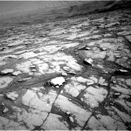 Nasa's Mars rover Curiosity acquired this image using its Right Navigation Camera on Sol 2793, at drive 1686, site number 80