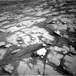 Nasa's Mars rover Curiosity acquired this image using its Right Navigation Camera on Sol 2793, at drive 1692, site number 80