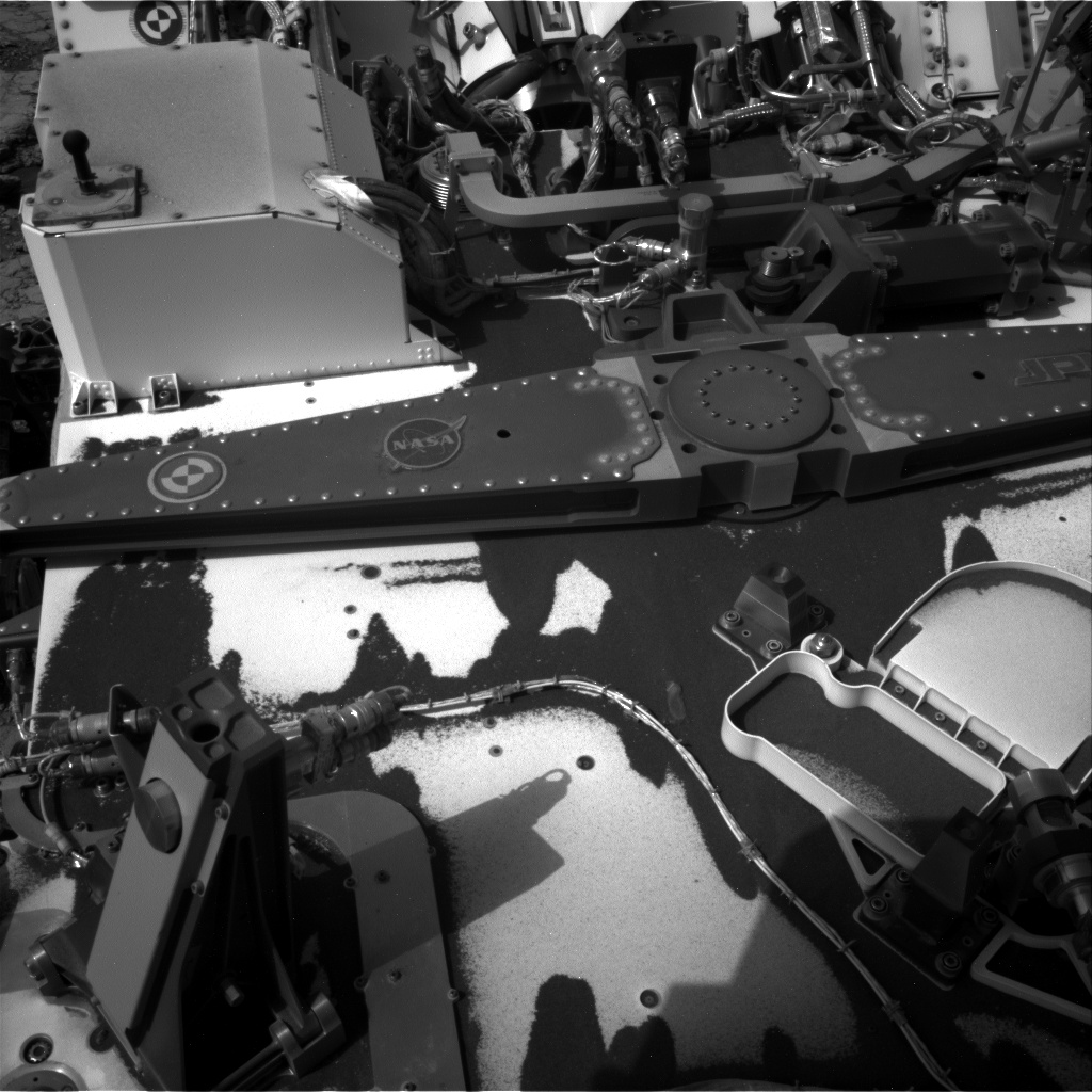 Nasa's Mars rover Curiosity acquired this image using its Right Navigation Camera on Sol 2793, at drive 1708, site number 80