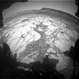 Nasa's Mars rover Curiosity acquired this image using its Front Hazard Avoidance Camera (Front Hazcam) on Sol 2795, at drive 1816, site number 80