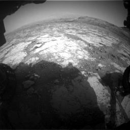 Nasa's Mars rover Curiosity acquired this image using its Front Hazard Avoidance Camera (Front Hazcam) on Sol 2795, at drive 1900, site number 80