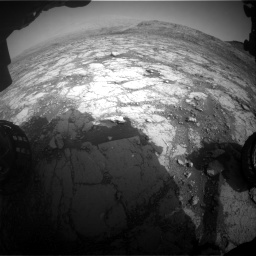Nasa's Mars rover Curiosity acquired this image using its Front Hazard Avoidance Camera (Front Hazcam) on Sol 2795, at drive 1918, site number 80
