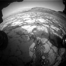 Nasa's Mars rover Curiosity acquired this image using its Front Hazard Avoidance Camera (Front Hazcam) on Sol 2795, at drive 2006, site number 80