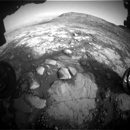 Nasa's Mars rover Curiosity acquired this image using its Front Hazard Avoidance Camera (Front Hazcam) on Sol 2795, at drive 2060, site number 80