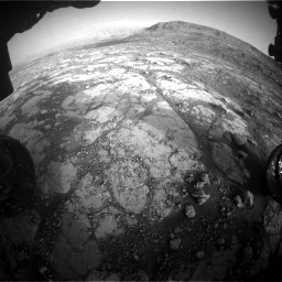 Nasa's Mars rover Curiosity acquired this image using its Front Hazard Avoidance Camera (Front Hazcam) on Sol 2795, at drive 2084, site number 80