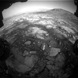 Nasa's Mars rover Curiosity acquired this image using its Front Hazard Avoidance Camera (Front Hazcam) on Sol 2795, at drive 2096, site number 80
