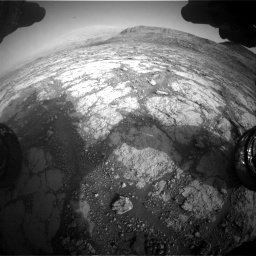 Nasa's Mars rover Curiosity acquired this image using its Front Hazard Avoidance Camera (Front Hazcam) on Sol 2795, at drive 1994, site number 80